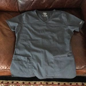 Grey scrub top